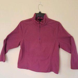 Lands End Fleece Half Zip Pullover